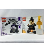 Lego Lot 40203 & 40204 Halloween Vampire & Turkey Pilgrim Thanksgiving S... - $34.29