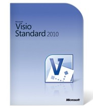 Microsoft Office Visio Standard 2010  -  3PCs -... - $59.74