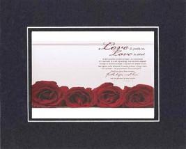 Heartfelt Plaque for Love & Marriage - Love is Patient, Love is Kind . . . poem  - $15.95