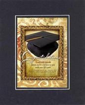 Heartfelt Plaque for Graduation - Congratulations - Jeremiah 29:11 Poem on 8x10  - $10.95
