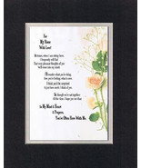Heartfelt Poem for Nieces – For My Niece with Love on 11 x14 Double Matting - $19.95