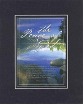 Plaque for Inspirations  – The  Peace of God - Philippians 4:6-7 . . . 8 x 10 Do - $10.95