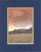 Plaque for Inspirations  – The Lord is My Shepherd... PSALM 23 . . . 8 x 10 Doub - $10.95