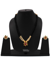 Womens Trendz Traditional, Ethnic and Antique 24K Gold Plated  Necklace and Earr - $37.00