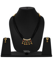 Womens Trendz Traditional, Ethnic and Antique 24K Gold Plated  Necklace and Earr - $36.00
