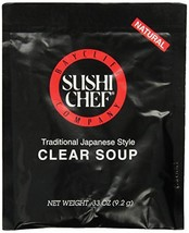 Sushi Chef Clear Soup, 0.33-Ounce Packages (Pack of 12) - $12.86