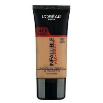 L'oreal Infallible Pro-Matte 24hr Foundation #107 Fresh Beige - $11.90
