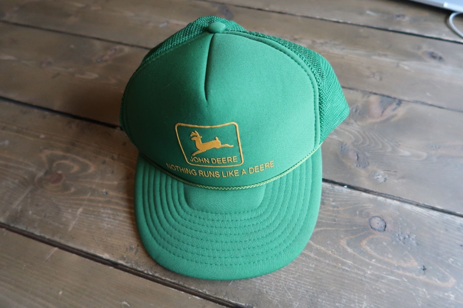 22ee47ad3c01a Vintage John Deere Mesh Trucker Hat and 50 similar items. S l1600