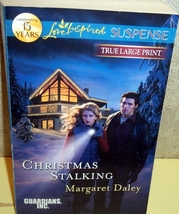 Christmas Stalking Margaret Daley(Guardians Inc)(Love Inspired Suspense)... - $3.00