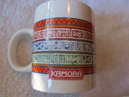 Kamora Multi Color Abstract Graphic Ceramic Coffee Mug Cup w/ C Handle! ... - $12.12