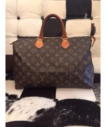 Vintage LOUIS VUITTON Monogram Canvas Speedy 35 Handbag B - $250.00