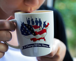 Memorial Day Mug, In Memory of our Heroes, Memorial Day Gift, American Flag Mug,