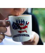 Memorial Day Mug, In Memory of our Heroes, Memorial Day Gift, American Flag Mug, - £10.94 GBP