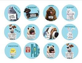 "Secret Life of Pets Edible Cupcake Image Topper Party Favor 12 -2"" Party... - $9.99"
