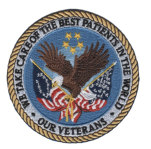 """3.5"""" VETERANS AFFAIRS MEDICAL CENTERS EAGLE EMBROIDERED PATCH - $23.74"""