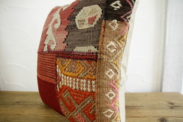 Kilim Pillows |16x16 | Decorative Pillows | 466 | Accent Pillows turkish... - $35.00