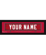 Toronto Raptors Personalized Jersey Nameplate Framed Print - $38.50