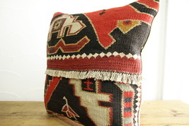 Kilim Pillows |16x16 | Decorative Pillows | 489 | Accent Pillows turkish... - $35.00