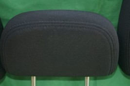11-15 Dodge Journey 2nd Row Black Cloth 3 Headrests Headrest w/ Cupholder image 2