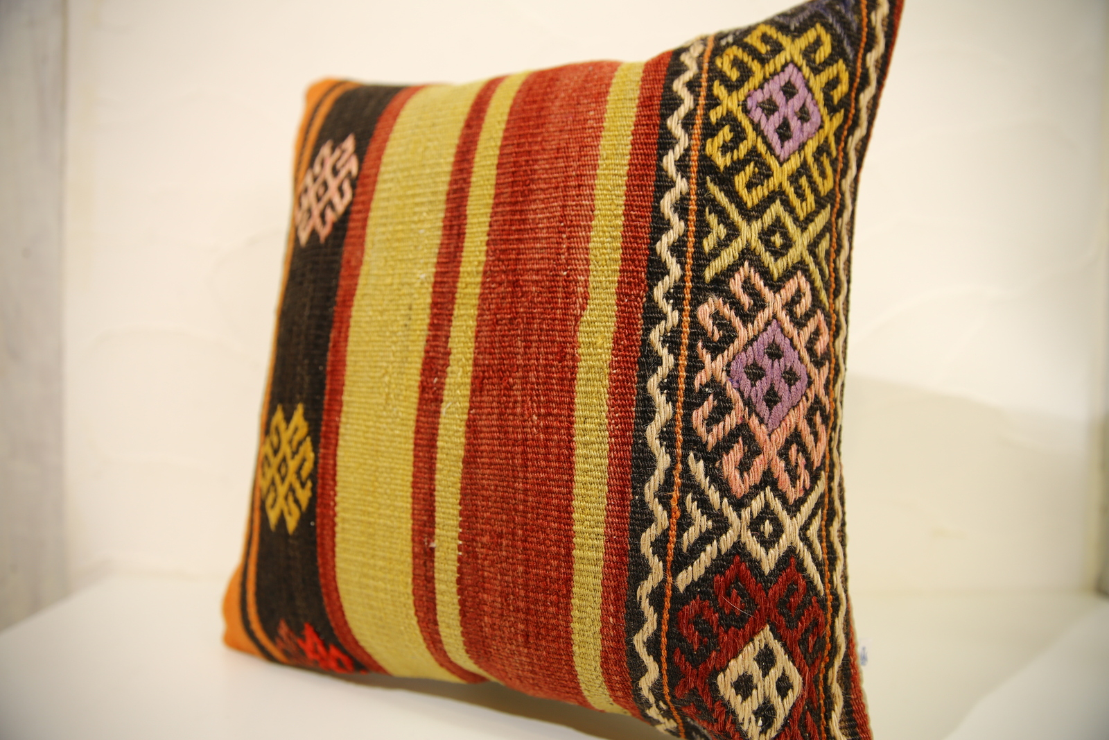 Kilim Pillows |16x16 | Decorative Pillows | 547 | Accent Pillows turkish pillow