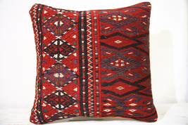 Kilim Pillows |16x16 | Decorative Pillows | 771 | Accent Pillows turkish... - $49.00