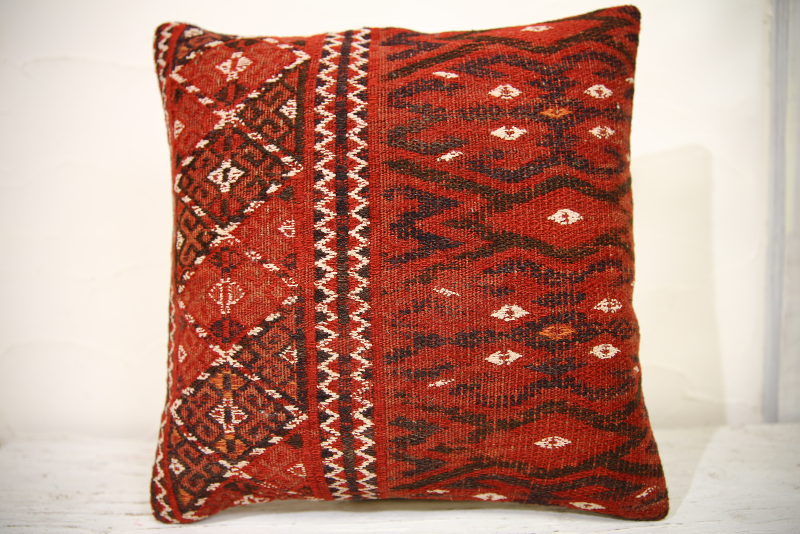 Kilim Pillows | 16x16 | Turkish pillows | 949 | Accent Pillows , kilim cushion
