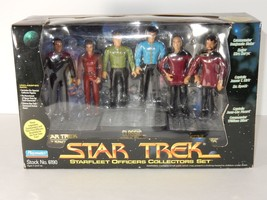 Playmates 1994 Star Trek Starfleet Officers Collectors Set NIB  - $34.64