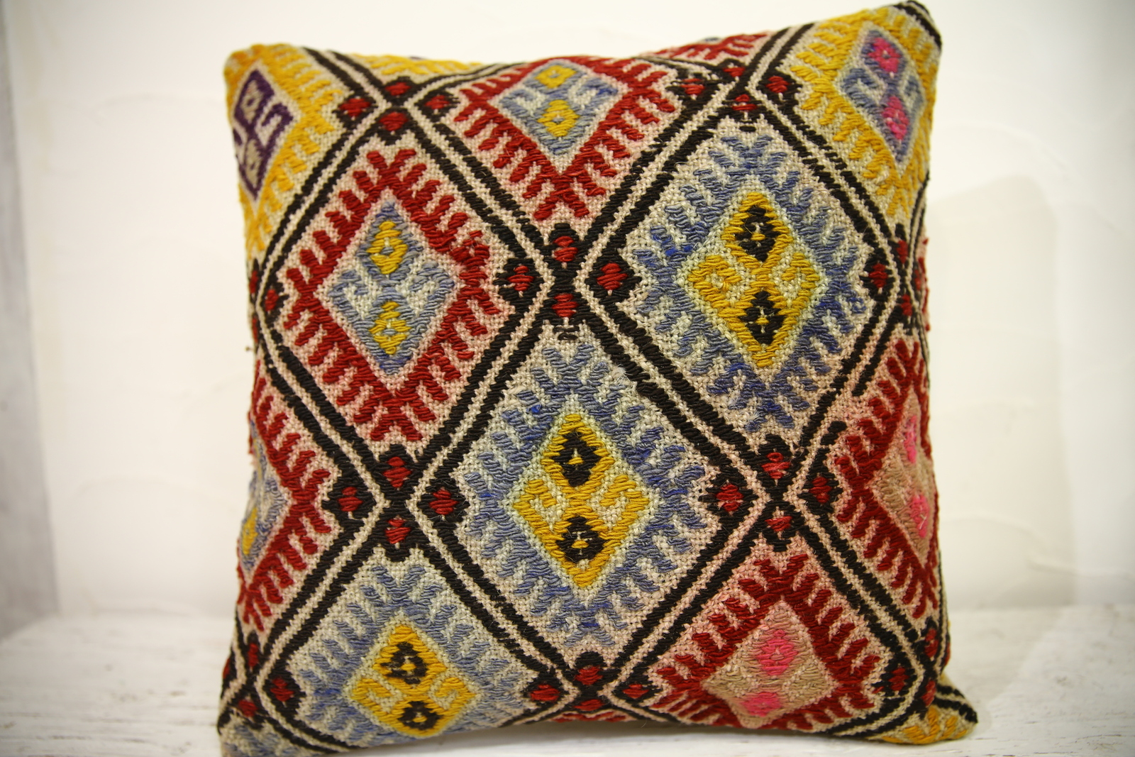 Kilim Pillows |16x16 | Decorative Pillows | 1052 | Accent Pillows turkish pillow