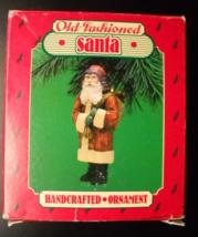Hallmark Keepsake Christmas Ornament 1986 Old Fashioned Santa Handcrafted Boxed - $7.99