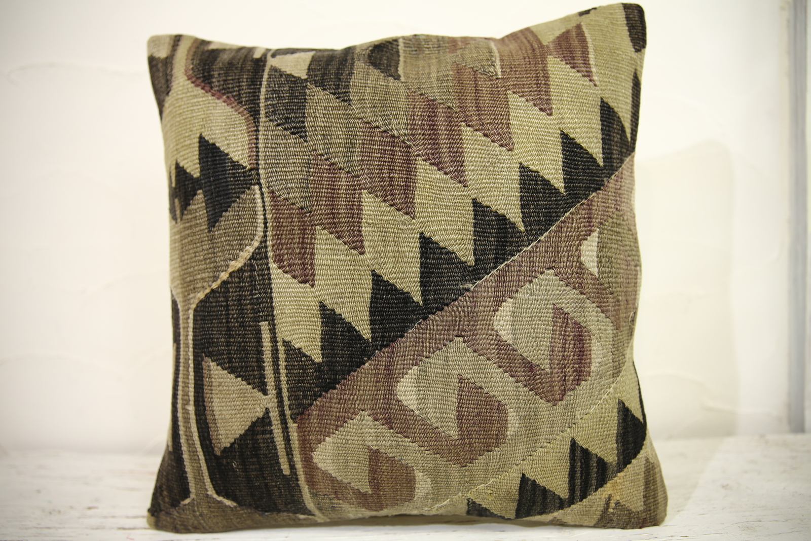 Kilim Pillows |16x16 | Decorative Pillows | 1098 | Accent Pillows turkish pillow