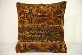 Kilim Pillows |16x16 | Decorative Pillows | 1253 | Accent Pillows turkis... - $38.00