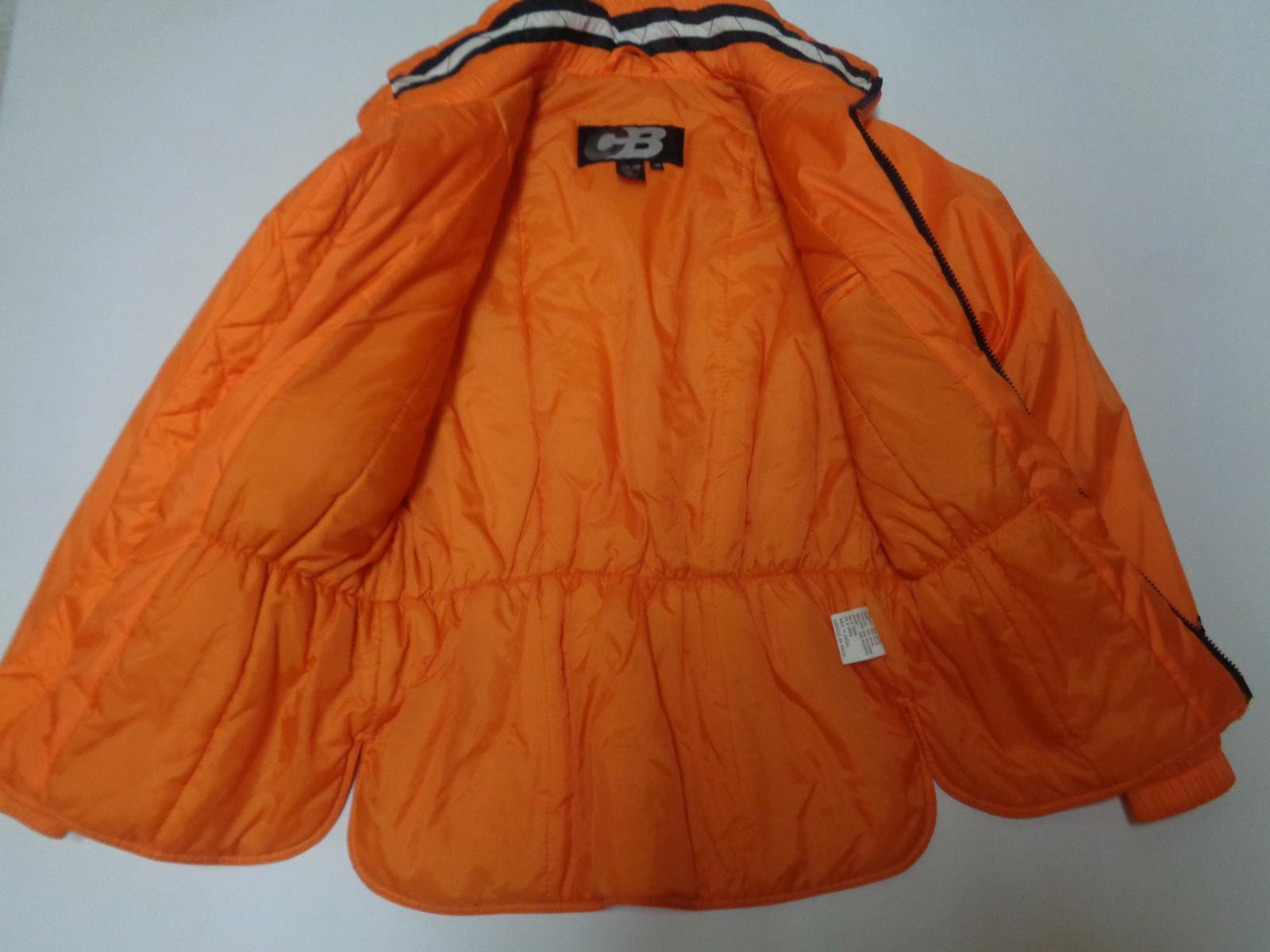Ladies' Orange Ski Snowboarding Jacket Sz 10 CB Sports Down