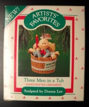 Hallmark Keepsake Christmas Ornament 1987 Three Men In A Tub Donna Lee B... - $7.99