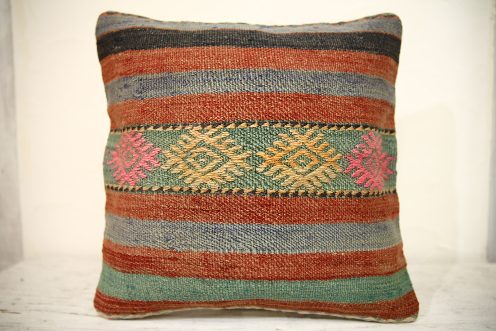 Kilim Pillows |16x16 | Decorative Pillows | 1341 | Accent Pillows turkish pillow