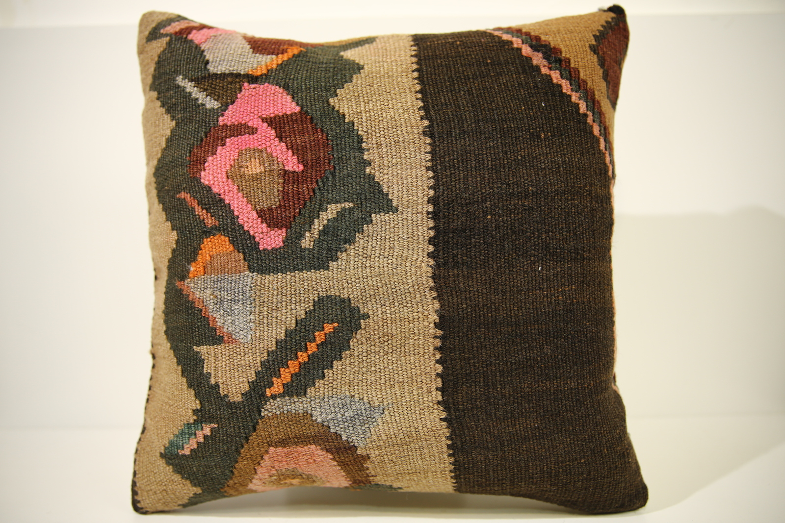 Kilim Pillows |16x16 | Decorative Pillows | 1555 | Accent Pillows turkish pillow