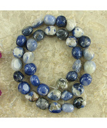 "SODALITE 8-10mm NUGGET BEADS - 16"" Strand Gemstone - $6.98"