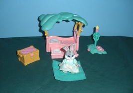 Vintage Fisher Price #74725 Hideaway Hollow Bed... - $15.99