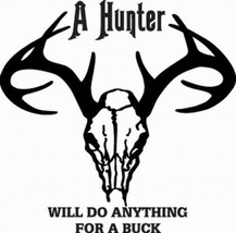 3/96  Hunt  Decal Vinyl Graphic Gun Rifle Van  Vehicle  Cross Over  Truck Suv - $16.99