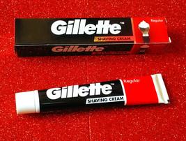 NEW GILLETTE MEN'S SHAVING CREAM 30 GM REGULAR BUY 2 GET 1 FREE ( 3 X 30... - $13.37