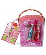 LIP SMACKER* 4pc Set BARBIE Balm+Gloss SWEET WISHES Pink Coin Purse BUBB... - $19.99