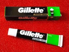 GILLETTE MEN'S SHAVING CREAM 30 GM LIME BUY 1 GET 1 FREE ( 2 X 30=60 GMS) - $7.16
