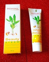 New Patanjali  ~  Baba Ramdev~ Beauty Cream For Skin Each Pack 50 gm UNI... - $6.27