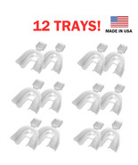 12 Teeth Whitening Thermoforming MouthTrays - At Home Professional Syste... - $9.20