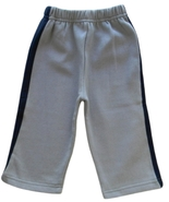 Disney 12 Mos. Baby Boys Gray Fleece Track Pants  - $2.99