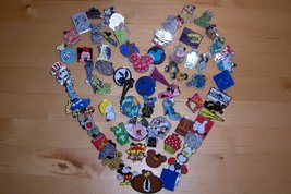 Fall Special  Disney Trading Pin Lapel Lot of (100) Pins  Authentic NO D... - $54.44
