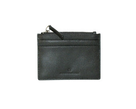 Brooks Brothers Men's Genuine Leather Zipper ID Card Holder, Black, O/S ... - $58.91
