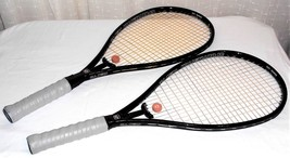 Rare Vtg 2 Sportsmaster Jian 115 Graphite Tennis Racquets 2 Cases READ D... - $106.82