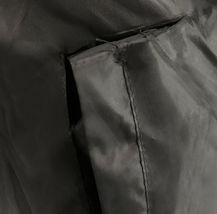 Men's Reversible Water Resistant Fleece Lined Hooded Rain Jacket w/ Defect  2XL image 6