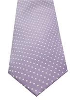 NEW MENS CLUB ROOM ESTATE NECKWEAR SUN POLKA DOT PURPLE COTTON SILK NECK... - $8.90