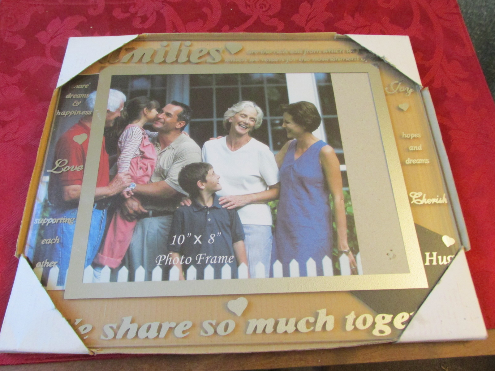 Families We Share So Much Together 8x10 Picture Frame